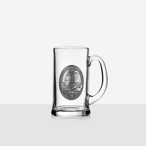 Халба з бира 50 години юбилей на супер цена от Neostyle.bg