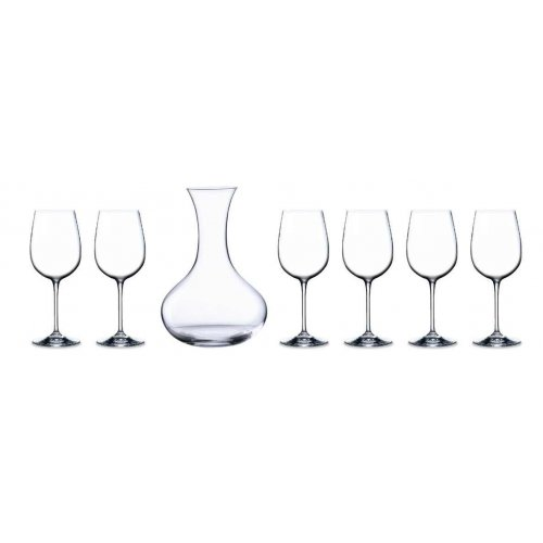 Комплект декантер Somelier с 6 чаши за червено вино на супер цена от Neostyle.bg