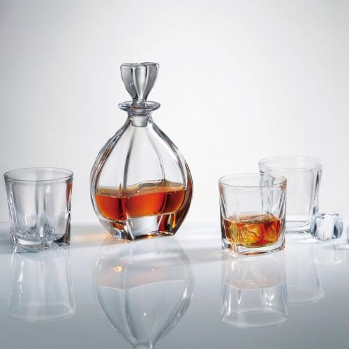 Сервиз за уиски с гарафа - Laguna  Bohemia на супер цена от Neostyle.bg