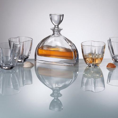 Сервиз за уиски с гарафа -  Nemo Bohemia на супер цена от Neostyle.bg