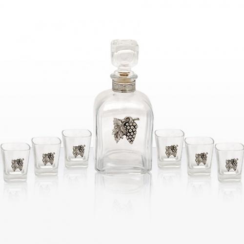 Сет 6 чаши и бутилка на супер цена от Neostyle.bg