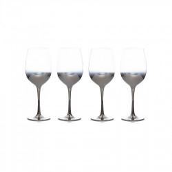 Сет 6 чаши с огледално столче