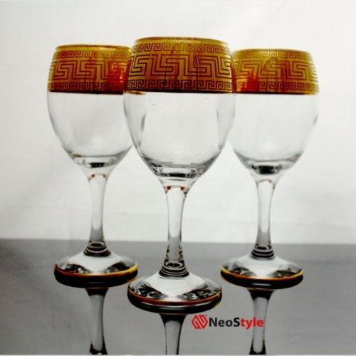 Сет за бяло вино Версаче на супер цена от Neostyle.bg