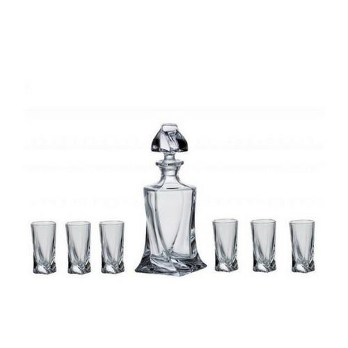 Сет бутилка+6 чаши за ракия Bohemia на супер цена от Neostyle.bg
