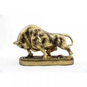 Декоративна пластика бик