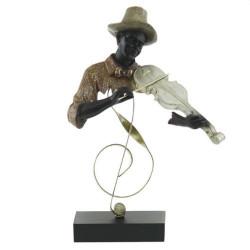 Арт пластика на музикант - цигулка