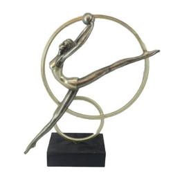 Арт статуетка Гимнастичка