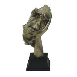 Арт Статуетка на лице