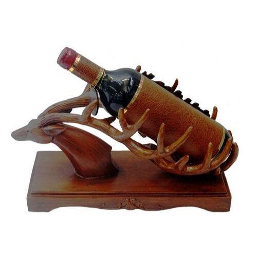 Декоративна фигура елен с поставка за бутилка на супер цена от Neostyle.bg