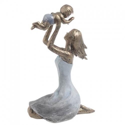 Декоративна фигура майка с дете