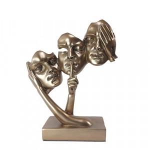 Декоративнa статуетка Лица