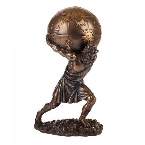 Декоративна статуетка Атлас на супер цена от Neostyle.bg