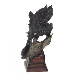Декоративна статуетка''Глава на глиган''