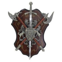 Герб за стена - Брадви