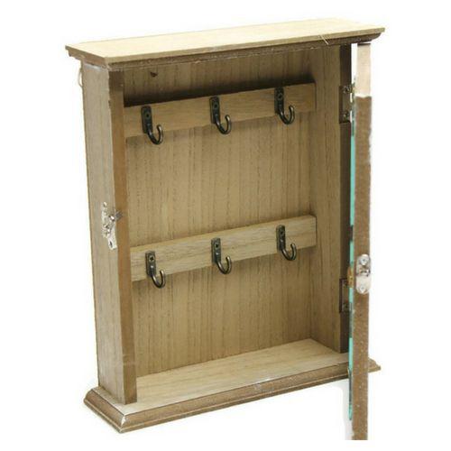 Дървена кутия за ключове Сърце на супер цена от Neostyle.bg