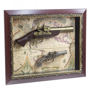 Картина с пистолети