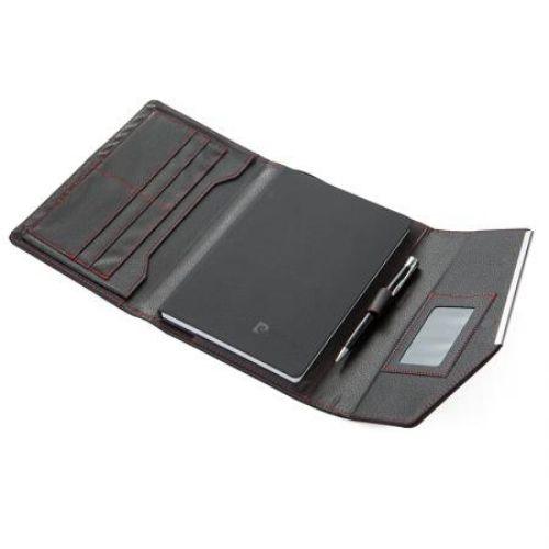 Комплект черен тефтер с химикал Pierre Cardin на супер цена от Neostyle.bg