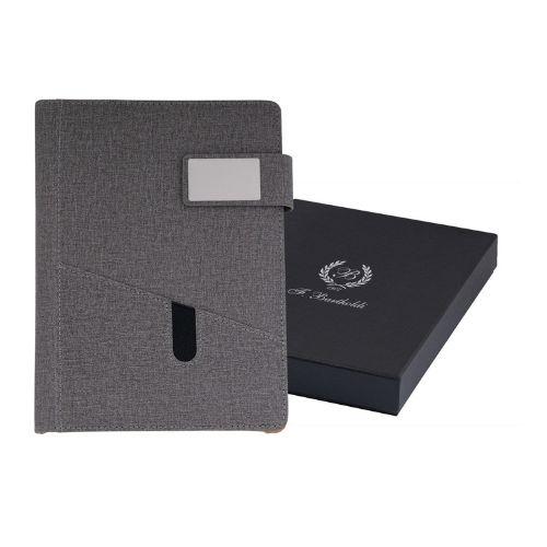 Органайзер A5 с текстилини корици в кутия на супер цена от Neostyle.bg