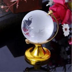 Декоративен глобус от стъкло