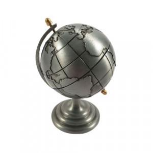 Декоративен глобус от метал