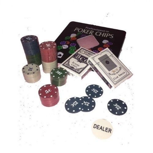 Покер сет в метална кутия на супер цена от Neostyle.bg