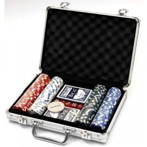 Покер сет в меална кутия