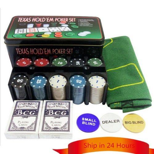 Покер сет texas holdem poker set на супер цена от Neostyle.bg