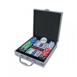 Покер сет в метален куфар