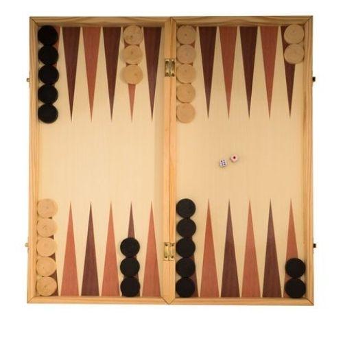 Дървен шах и табла на супер цена от Neostyle.bg
