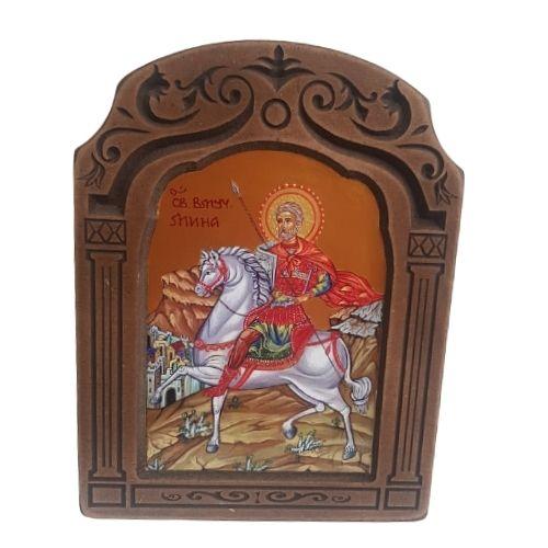 Икона на Свети Мина на супер цена от Neostyle.bg