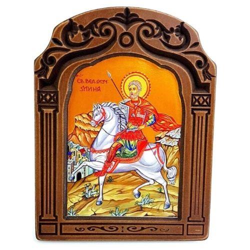 Икона Свети Мина на супер цена от Neostyle.bg