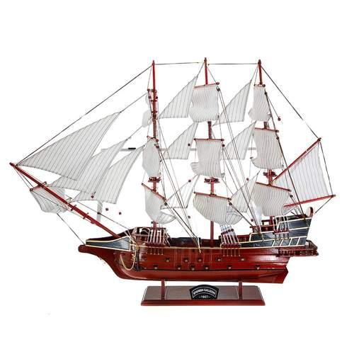 Дървен макет на кораб Spanish Galleon 1607 на супер цена от Neostyle.bg