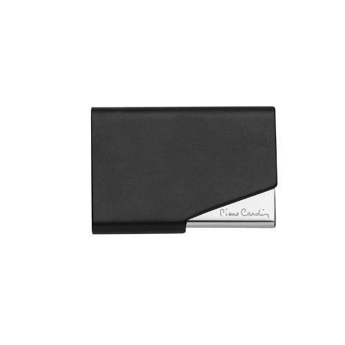 Визитник Pierre Cardin класик черна кожа на супер цена от Neostyle.bg