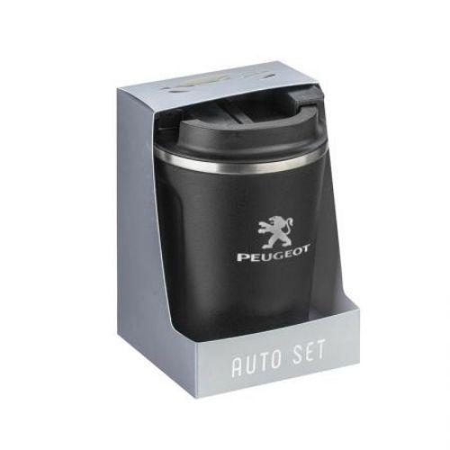 Термо чаша с лого на Peugeot на супер цена от Neostyle.bg